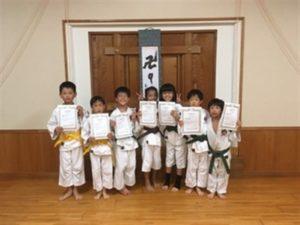 【拳士の記録】2017年8月昇級者 (1)
