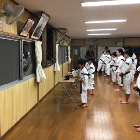 2018年達磨忌法要・入門式 (2)