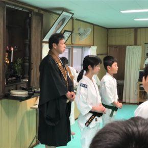 2019年新春法会・入門式 (5)
